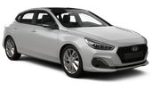 BUDGET Car rental Paphos City Compact car - Hyundai i30