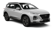 ALAMO Car rental Fullerton - 729 W Commonwealth Ave Suv car - Hyundai Santa Fe