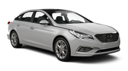 EUROPCAR Car rental Dubai - Mercato Shoping Mall Fullsize car - Hyundai Sonata