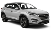 BUDGET Car rental Beer Sheva Suv car - Hyundai Tucson