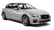 AVIS Car rental Dubai - Downtown Luxury car - Infiniti Q50
