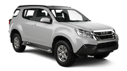 THRIFTY Car rental Bangkok - City Centre Suv car - Isuzu MU-X