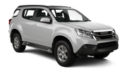 HERTZ Car rental Nan Nakhon Airport Suv car - Isuzu MU-X