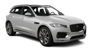 DOLLAR Car rental Plymouth Suv car - Jaguar F-Pace