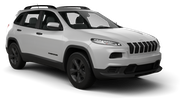 BUDGET Car rental Calgary - Airport Suv car - Jeep Cherokee
