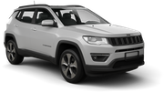 HERTZ Car rental Sacramento Int'l Airport Suv car - Jeep Compass