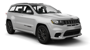 ACE Car rental Fullerton - La Mancha Shopping Center Suv car - Jeep Grand Cherokee