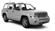 借りるJeep Patriot