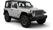 NATIONAL Car rental South Miami Beach Suv car - Jeep Wrangler Sport
