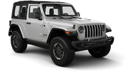 NATIONAL Car rental Providence Airport Suv car - Jeep Wrangler Sport