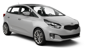 HERTZ Car rental Paphos City Van car - Kia Carens