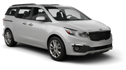 BUDGET Car rental Perth Airport - Domestic Terminal Van car - Kia Carnival