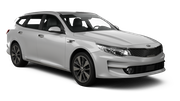 BUDGET Car rental Slupsk Standard car - Kia Optima Estate