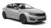 THRIFTY Car rental Newark International Airport New Jersey Standard car - Kia Optima