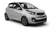 THRIFTY Car rental Panama City - Hotel La Cresta Inn Economy car - Kia Picanto
