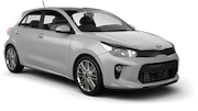 BUDGET Car rental Paphos - Airport Compact car - Kia Rio