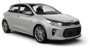 AVIS Car rental Canberra - Downtown Economy car - Kia Rio