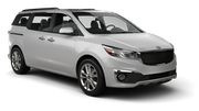 EUROPCAR Car rental Newark - 180 Washington Street Van car - Kia Sedona