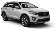 THRIFTY Car rental Newark International Airport New Jersey Suv car - Kia Sorento