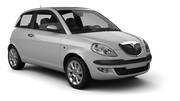 BUDGET Car rental Venice - Airport - Marco Polo Economy car - Lancia Ypsilon