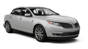 BUDGET Car rental Sacramento Int'l Airport Luxury car - Lincoln MKS