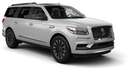 ENTERPRISE Car rental Milwaukee Airport Suv car - Lincoln Navigator