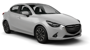 INTERRENT Car rental Abu Dhabi - Downtown Economy car - Mazda 2