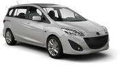 AVIS Car rental Changi Airport - T3 Van car - Mazda 5