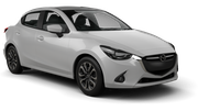 HITCH CAR RENTALS Car rental Christchurch - Airport Economy car - Mazda Demio