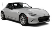 ALAMO Car rental Fullerton - La Mancha Shopping Center Convertible car - Mazda Miata Convertible
