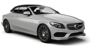 HERTZ Car rental Paphos - Airport Luxury car - Mercedes C Class Convertible