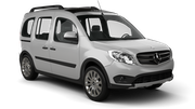 BUDGET Car rental Lesvos - Airport - Mytilene International Van car - Mercedes Citan