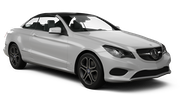 AVIS Car rental Paphos City Convertible car - Mercedes E Class Convertible