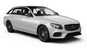 SIXT Car rental Sheffield Standard car - Mercedes E Class Estate