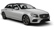 EUROPCAR Car rental Nis Airport Luxury car - Mercedes E Class