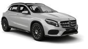 THRIFTY Car rental Canberra - Downtown Suv car - Mercedes GLA