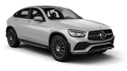 THRIFTY Car rental Newcastle Downtown Suv car - Mercedes GLC
