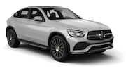 EUROPCAR Car rental Geneva - Downtown Suv car - Mercedes GLC Coupe
