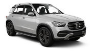 EUROPCAR Car rental Luton Suv car - Mercedes GLE