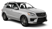 DOLLAR Car rental Paphos City Suv car - Mercedes ML
