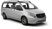 SIXT Car rental Dubai - Mall Of The Emirates Van car - Mercedes Vito Traveliner ya da benzer araçlar