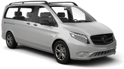 EUROPCAR Car rental Nis Airport Van car - Mercedes Vito