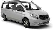 ALAMO Car rental Barcelona - Airport Van car - Mercedes Vito Traveliner