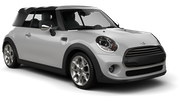 ALAMO Car rental Orange County - John Wayne Apt Convertible car - Mini Cooper Convertible