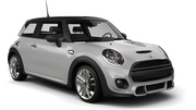 DOLLAR Car rental Dubai - Downtown Economy car - Mini Cooper F55
