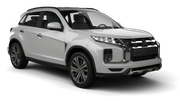 AVIS Car rental Abu Dhabi - Downtown Suv car - Mitsubishi ASX