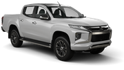 ECONORENT Car rental La Serena - Downtown Suv car - Mitsubishi L200 Cabstar