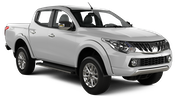 AVIS Car rental Moscow - Downtown Suv car - Mitsubishi L200