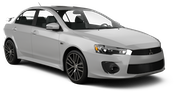EUROPCAR Car rental Dubai - Intl Airport Economy car - Mitsubishi Lancer