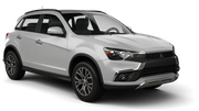 ALAMO Car rental Newcastle Downtown Suv car - Mitsubishi Outlander